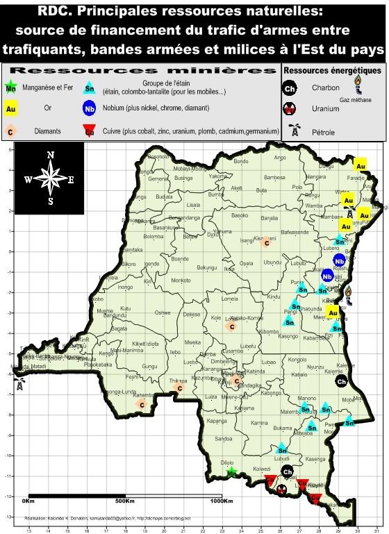 Ressources minières et énergétiques de la RDC