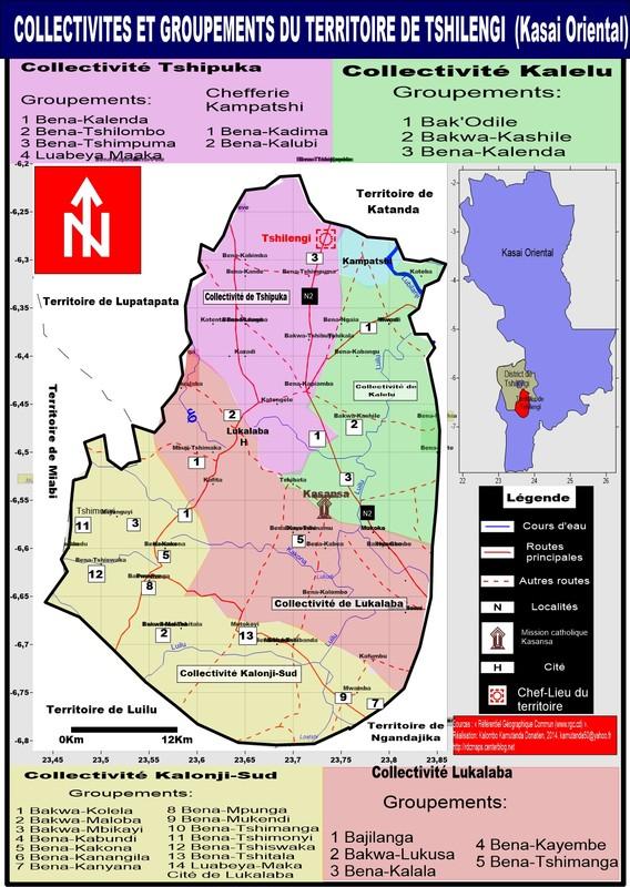 Territoire de Tshilengi, Kasai Oriental
