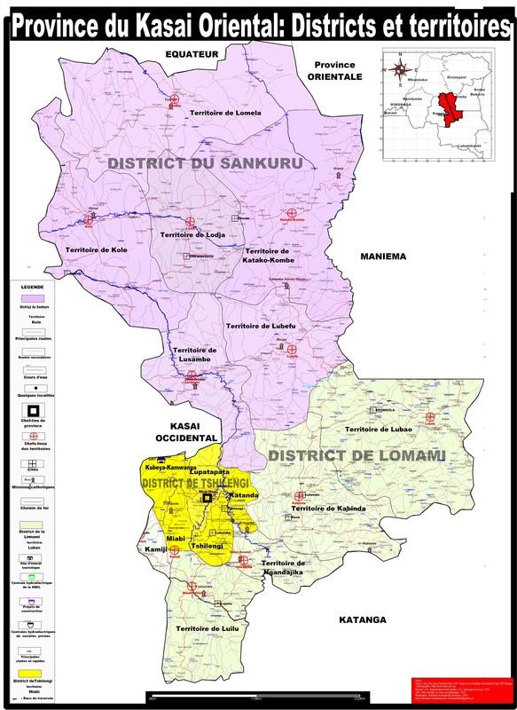 La province du Kasai Oriental