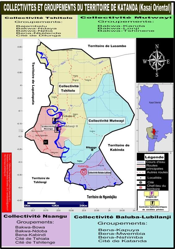 Territoire de Katanda, province du Kasai Oriental
