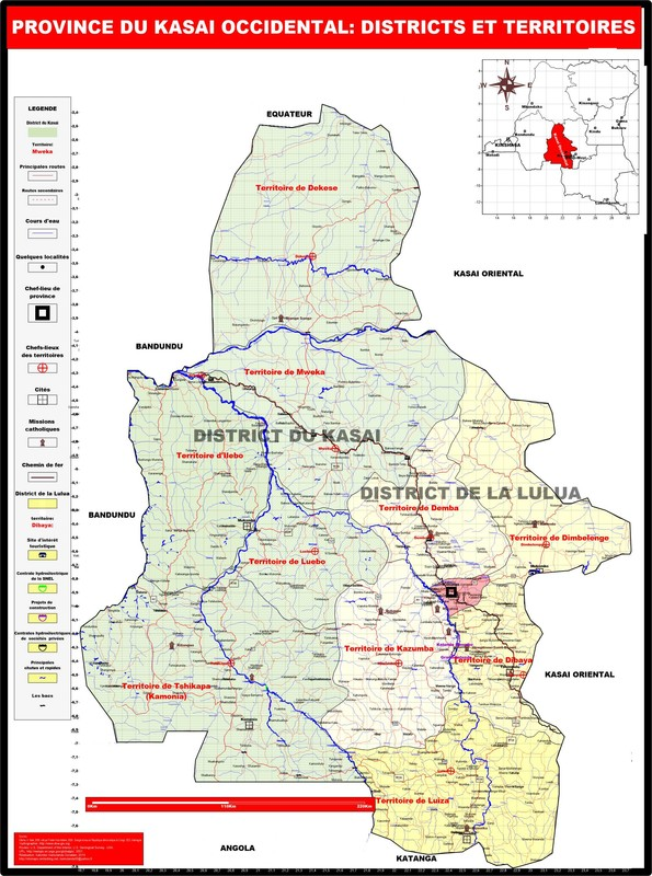 La province du Kasai Occidental
