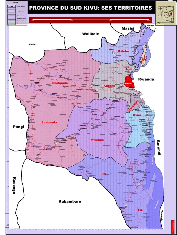 La province du Sud Kivu