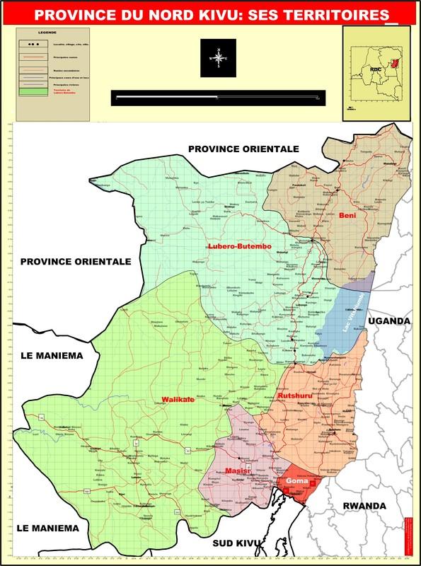 La province du Nord Kivu
