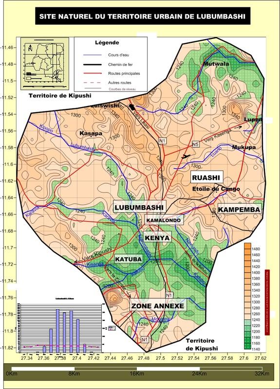 Site naturel de la ville de Lubumbashi