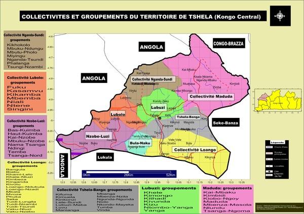 Le territoire de Tshiela (Kongo Central)