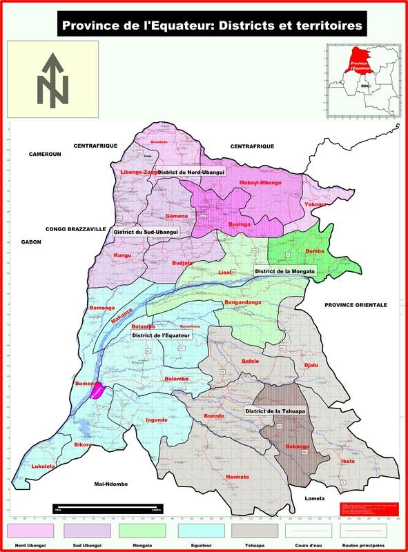 La province de l'Equateur